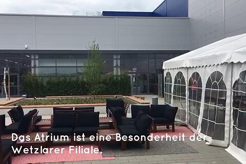 ikea wetzlar vor er ffnung billy ist schon da gie ener. Black Bedroom Furniture Sets. Home Design Ideas